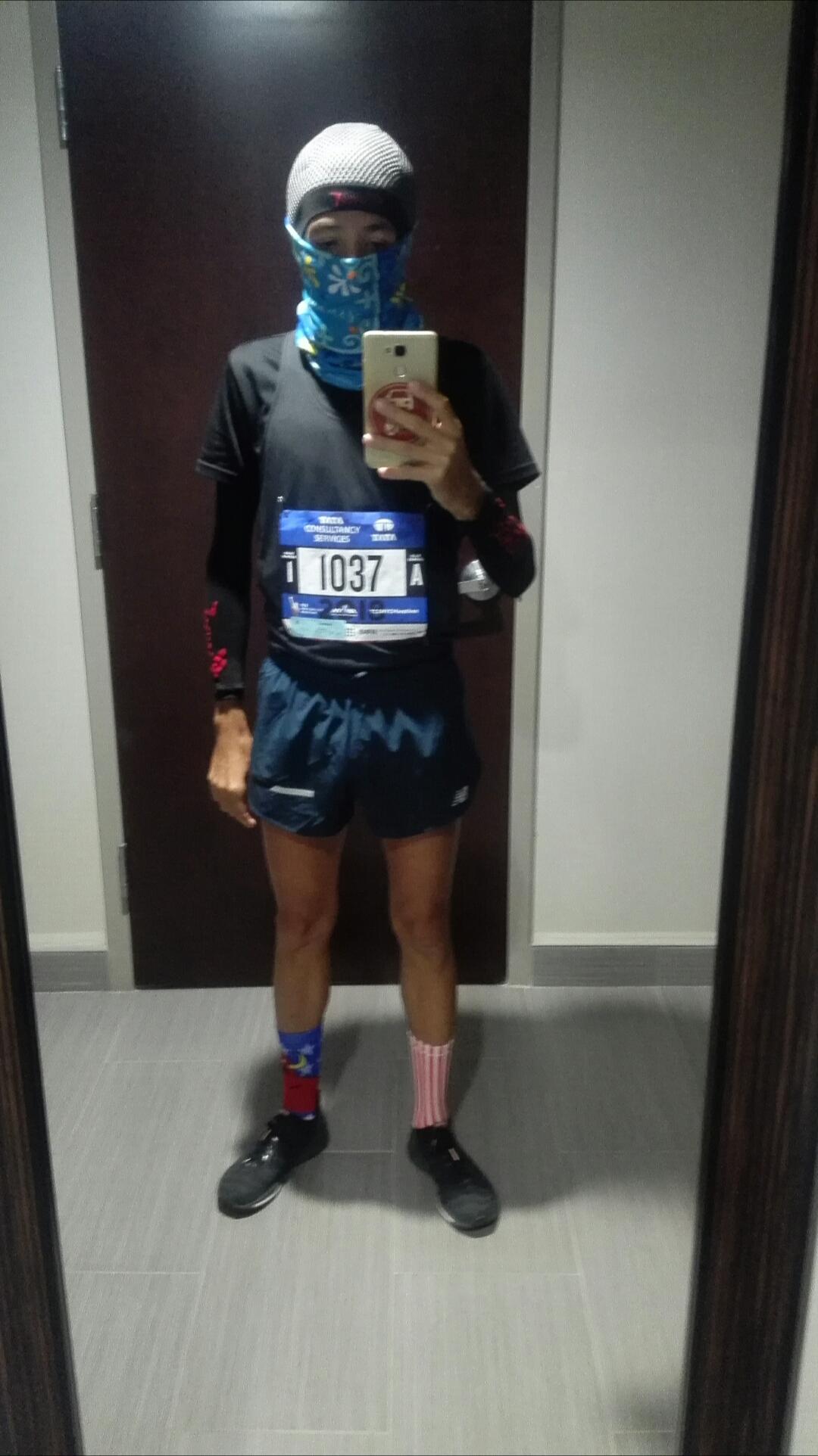 Flaco de Viaje Perdido en los Nuevayores, TCS NYC Marathon 2018, New balance.