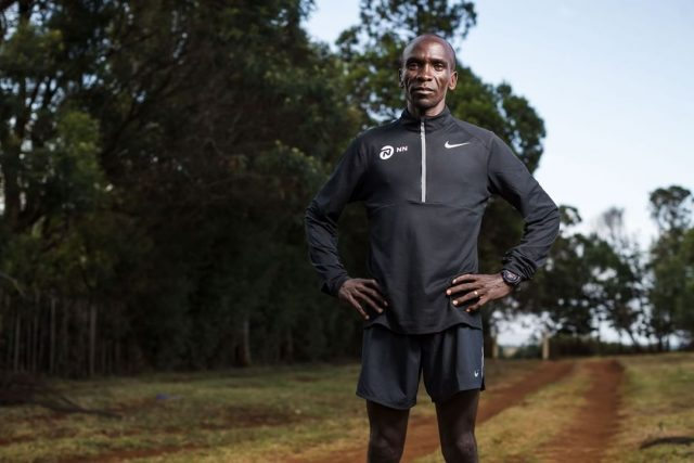 "Kipchoge, ""The Man"""
